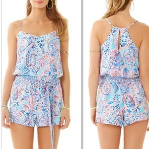 Lilly Pulitzer Shell Me About It Romper